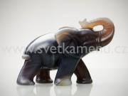 achát botswana slon