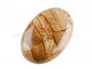 jaspis obrázkový masážní kámen